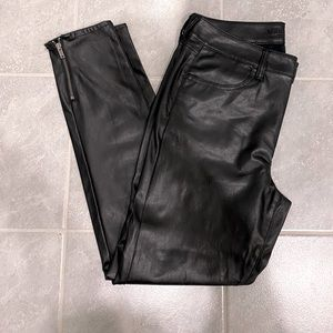 American Eagle Faux Leather Pants